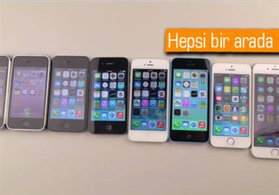 TÜM İPHONE MODELLERİ AYNI DÜŞME TESTİNDE BULUŞTU