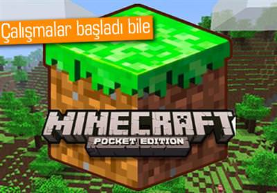 MİNECRAFT, WİNDOWS PHONE'A GELİYOR