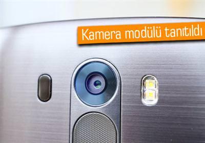 LG G4'TE 20.7 MP KAMERA OLACAK GÖZÜKÜYOR