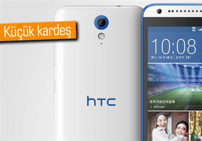 HTC DESİRE 820 MİNİ ORTAYA ÇIKTI