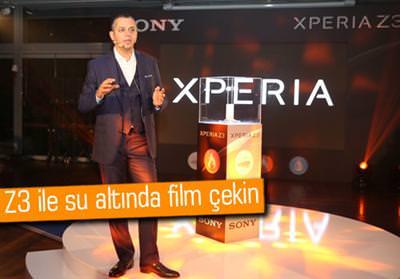 SONY XPERİA Z3 VE XPERİA Z3 COMPACT, TÜRKİYE'DE SATIŞA SUNULDU