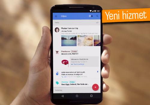 Google'dan yeni e-posta hizmeti