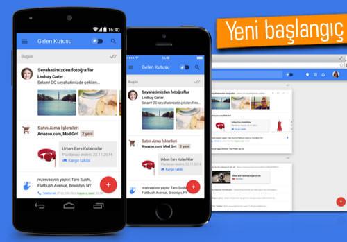 Google, Inbox için davetiyeleri yolladı