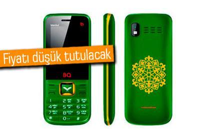 MÜSLÜMANLARA ÖZEL TELEFON SATIŞA ÇIKIYOR