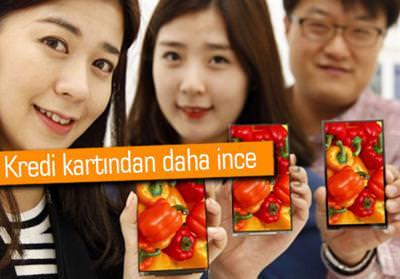 LG DİSPLAY, DÜNYANIN EN İNCE EKRAN PANELİNİ GELİŞTİRDİ