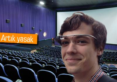 GOOGLE GLASS VE GALAXY GEAR SİNEMALARDA YASAKLANDI