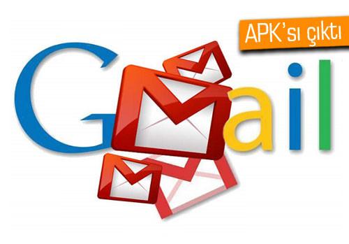 Gmail'e yepyeni imaj kazandıran 5.0 sürümünü yüklediniz mi?