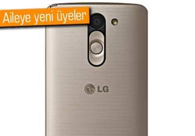 LGDEN IKI YENI TELEFON LG G PRIME VE G2 LITE