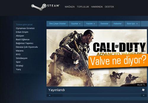 Valve'dan Steam'deki yüksek TL fiyatları hakkında açıklama