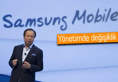 Samsung mobil departmanı yönetiminde değişiklik olabilir