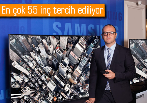 Samsung Türkiye'de kaç adet kavisli televizyon (Curved TV) sattı?