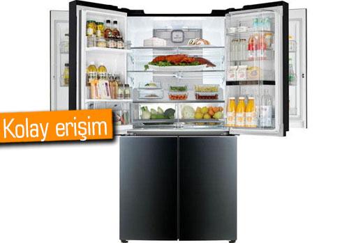 LG'den benzersiz tasarımlı buzdolabı