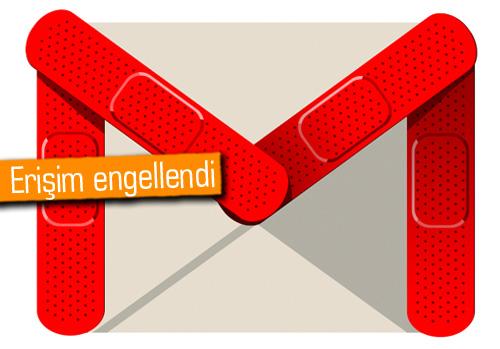 Gmail, Çin'de engellendi