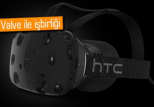 MWC 2015: Sanal gözlük HTC Vive duyuruldu