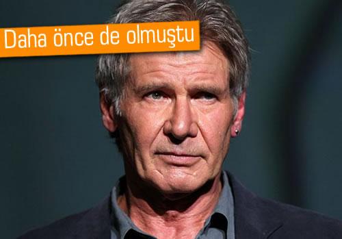 Harrison Ford, uçak kazasından yine kurtuldu