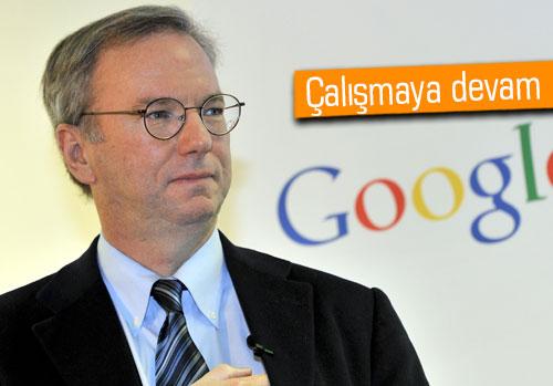 Eric Schmidt: Google Glass daha ölmedi
