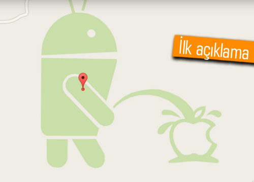 Google, Apple logosuna işeyen robot için ne dedi?