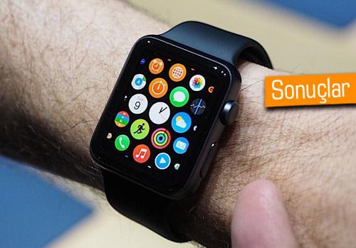 Apple'ın akıllı saati testleri geçti mi?