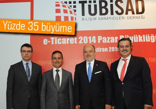 Türkiye'nin E-ticaret hacmi 18,9 milyar TL'ye ulaştı