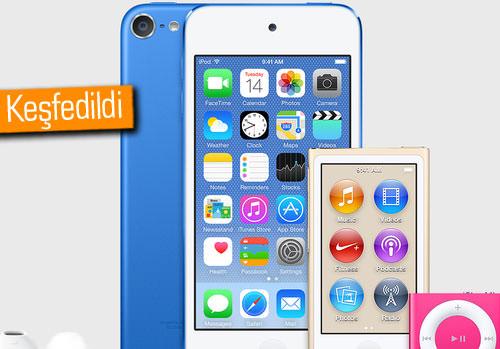 Yeni iPod'lar iTunes'un içinden çıktı!