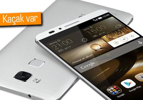 Gizemli sensöre sahip Huawei Mate 8 görseli sızdı!