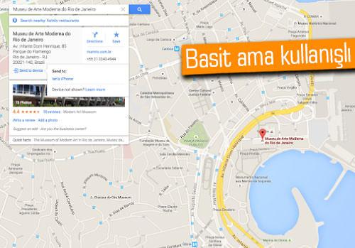 Google Maps'e bir özellik daha eklendi