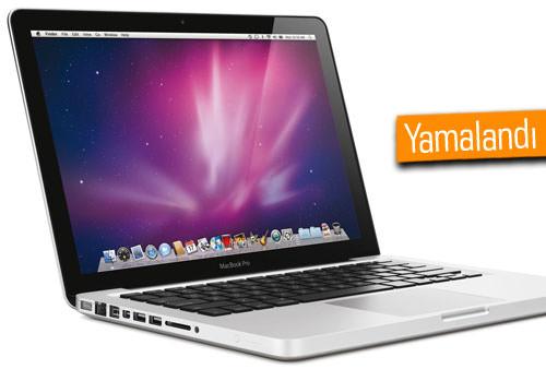 Apple, Mac'lerdeki kritik güvenlik açığını düzeltti!