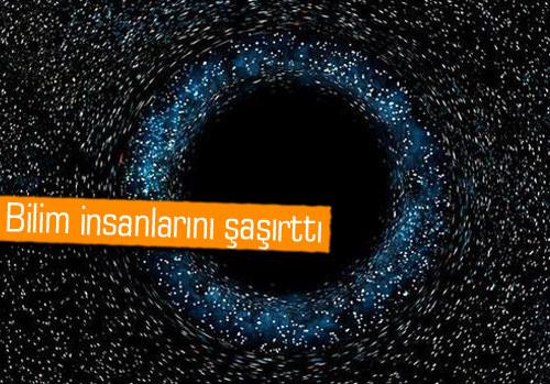 Yeni galakside büyük bir karadelik keşfedildi