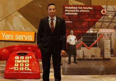 VODAFONE TEK TELEFON SERVİSİNİ DUYURDU
