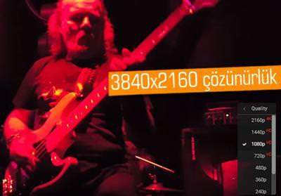 SAMSUNG GALAXY S6 EDGE+'IN 4K VİDEO KONSER PERFORMANSI