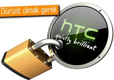 HTC AÇIKLADI, GERÇEKÇİ DEĞİLLER