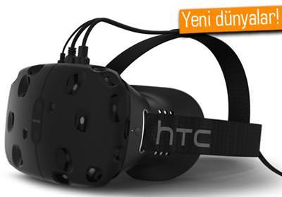 HTC VİVE SANAL GERÇEKLİK CİHAZINI DENEDİK