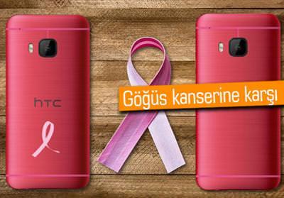 HTC'DEN KURDELELİ PEMBE RENKLİ ONE M9