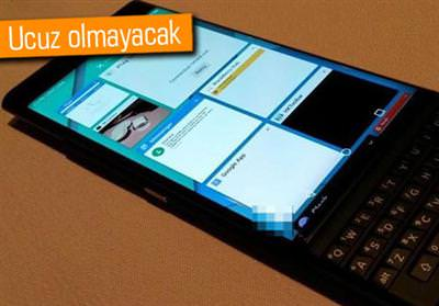 BLACKBERRY PRİV'İN FİYATI BELLİ OLDU