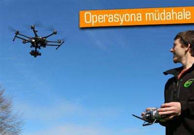 ANTHONY FERGUSON: ETRAFTA UÇUŞAN DRONE'LARA İHTİYACIMIZ YOK