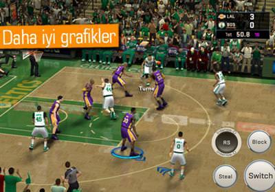 NBA 2K16 İOS VE ANDROİD İÇİN YAYINLANDI