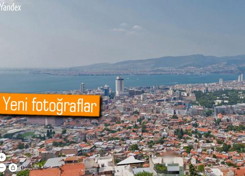 Yandex'in İzmir ve Antalya panoramaları yenilendi