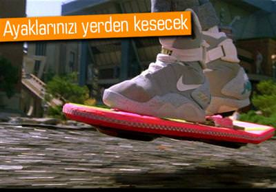 NİKE, BACK TO THE FUTURE'DAKİ AYAKKABIYI SATIŞA ÇIKARABİLİR