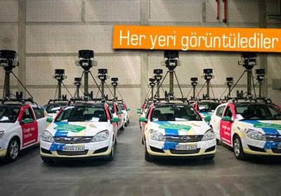 TÜRKİYE'NİN SOKAKLARI DA GOOGLE STREET VİEW'DE!