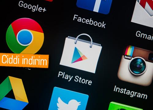 Google Play'deki ücretlere ülkemizde indirim geldi!
