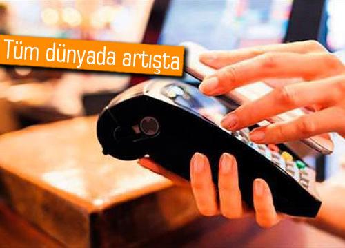 Türkiye'de mobil ödeme yapanlar 5 yılda 5'e katlandı