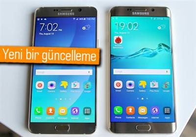 GALAXY NOTE 5 VE S6 EDGE+'A PERFORMANS GÜNCELLEMESİ