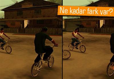 GTA SAN ANDREAS'IN PS4, PS3 VE PS2 GRAFİK KARŞILAŞTIRMASI