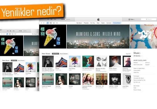 Apple, iTunes'un yeni sürümünü yayınladı