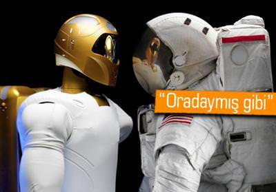 NASA, UZAY ROBOTLARINI PLAYSTATİON VR İLE KONTROL EDECEK!