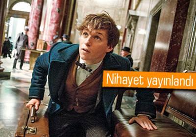 HARRY POTTER EVRENİNDE GEÇECEK YENİ FİLMDEN İLK FRAGMAN GELDİ!