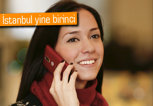 Yılbaşında Turkcell'liler 300 milyon SMS gönderildi
