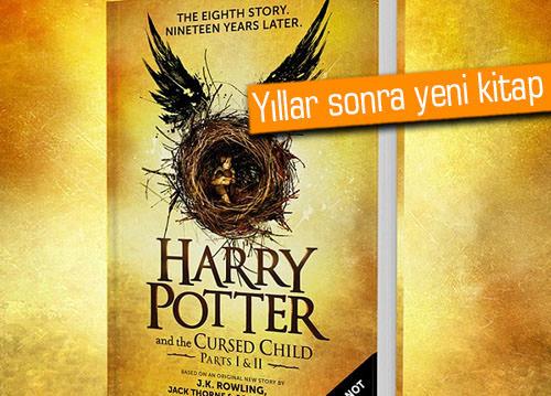 9 yıl sonra, farklı bir yazardan yeni Harry Potter kitabı geliyor