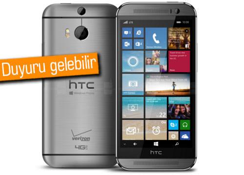 HTC'den Windows 10 telefonlar mı geliyor?