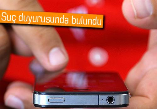 Cinsel içerikli SMS'lere suç duyurusu